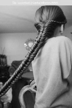 para quem tenha o cabelo bem comprido ;)