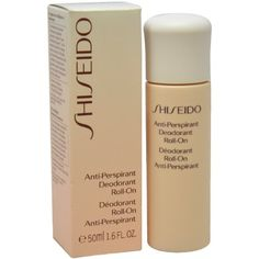 Shiseido Anti-perspirant Deodorant Roll-on Deodorant Roll-on for Unisex, 0.5 Ounce by Shiseido. $22.95. Effectively eliminates wetness & odor. Features components from innovative Scent Neutralizing System. Features components from innovative Scent Neutralizing System Effectively eliminates wetness & odor Makes you feel fresh & comfortable Long lasting effect throughout the day Enhances your confidence & well-beingProduct Line: Shiseido - Body CareProduct Size: 50ml/1.6oz