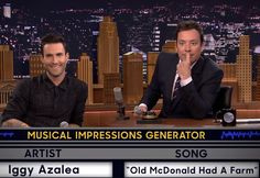 Adam Levine Pulls Off Some Unbelievable Musical Impressions with Jimmy Fallon
