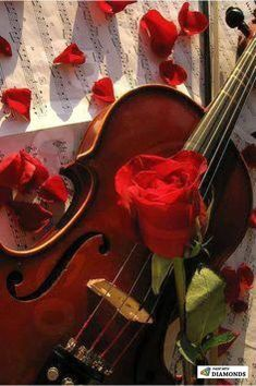 Romance In Music - Happy birthday greetings  IMAGES, GIF, ANIMATED GIF, WALLPAPER, STICKER FOR WHATSAPP & FACEBOOK