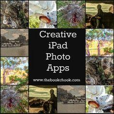 The Book Chook: Book Chook Favourites - Creative iPad Photo Apps Ipad Photo, Image Editing, Period Dramas, Creative Kids, App Design, The Book, Literacy, Literature, Have Fun