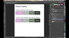 Planning Navigation Animation in Edge Animate
