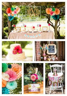 Glitter and Gold First Birthday - Pretty My Party