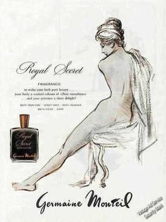 1964 Royal Secret Fragrance Germaine Monteil Print Ad | eBay