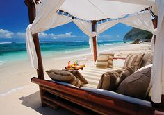 What I Wouldn T Do To Sleep In A Cabanas On The Beach Tonight