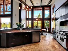 Photo of Black Kitchen project in Gig Harbor, WA by Peninsula Electric Corp