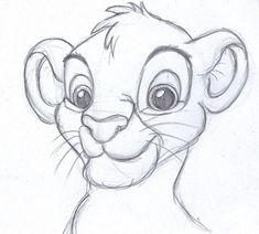 Disney sketch art 9 disney pencil drawings, simple disney drawings, pencil sketches of animals Disney Pencil Drawings, Pencil Drawing Images, Disney Character Drawings, Disney Drawings Sketches, Easy Drawings, Drawing Sketches, Drawing Ideas, Drawing Disney, Lion Drawing Easy