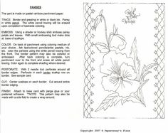 All Things Parchment Craft: My Free Patterns