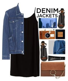 Denim Jacket / 144 by dddawn on Polyvore featuring Azalea, Balenciaga, Givenchy, Chloé, Bobbi Brown Cosmetics, NARS Cosmetics and LØMO
