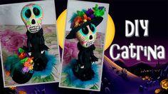 DIY| Catrina | Día de muertos | 👻 👾 👻 👾 👻 👾 👻 👾 👻 👾