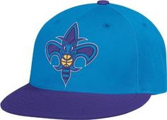 NBA New Orleans Hornets Flat Brim Flex Fit Wool Hat, Large/X-Large by adidas. $14.95. 87% acrylic/11%wool/2% polyurethane. Made by Adidas. Made in Bangladesh. Support your favorite team. Officially licensed by the NBA. Save 43% Off!