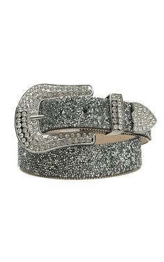 Ariat® Clear Crystal Chip Women's Belt A1510801
