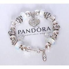 Pandora Snowy White Charm Bracelet