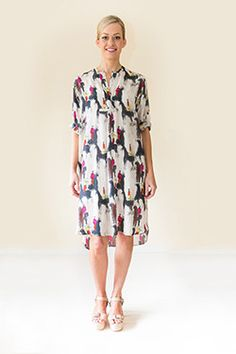 Silk Shirt Dress, Spring Summer, Collections, Casual, Shirts, Dresses, Products, Fashion, Vestidos