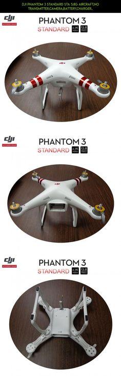 DJI Phantom 3 Standard STA 5.8G Aircraft,No Transmitter,Camera,Battery,Charger.. #technology #dji #racing #tech #products #drone #fpv #standard #shopping #gadgets #plans #camera #3 #parts #phantom #kit
