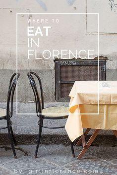 Florence restaurant guide