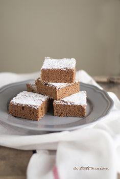 Torta al cioccolato fondente e farina di castagne La tarte maison
