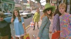 Carnaby Street 1967...home to the grooviest dresses ever!