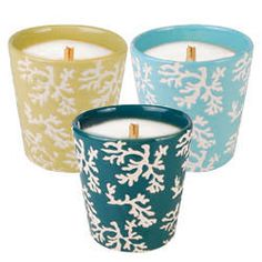 ceramic candles - Google Search