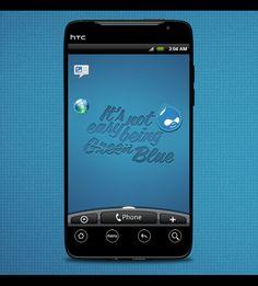 HTC Evo: Being Blue