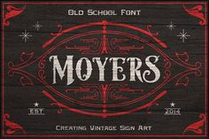 Moyers Typeface by Areatype on @creativemarket