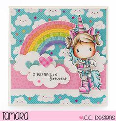Handmade by Tamara: Unicorn Lucy ☆ C.C. Designs
