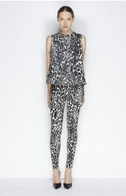 FLARED TOP LEOPARD