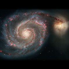 La galaxia Remolino