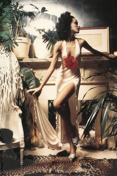 Fashion model Pat Cleveland (1972)