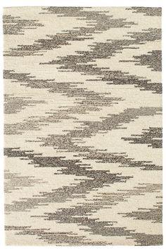 Chekat Grey Wool Micro Hooked Rug