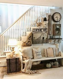 32 Rustic Farmhouse Living Room Decor Ideas For Your Home, Living room is essential in every home. Rustic living rooms are the perfect space to try a warm, earthy color palette. The living room is the perfect . Modern Farmhouse Living Room Decor, Farmhouse Wall Decor, Farmhouse Style, Farmhouse Bench, French Farmhouse, Modern Living, Farmhouse Ideas, Small Living, Kitchen Living