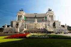 """Altare della Patria (""""The Typewriter""""). Rome."""