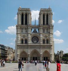 Cathédrale Notre-Dame, Paris.