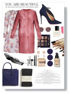 """YOU are Beautiful"" by katiethekool ❤ liked on Polyvore featuring Christian Louboutin, Tory Burch, The 2nd Skin Co., Christian Dior, MaxMara, Balenciaga, Marc Jacobs, RGB, Bobbi Brown Cosmetics and Lipstick Queen"