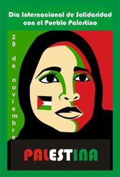 """#TalDiaComoHoy (29 de noviembre) de 1947 la Asamblea General de la ONU decide dividir Palestina en dos Estados: uno árabe y otro judío. De los dos Estados previstos sólo se creó uno: Israel.  Hoy se celebra el Día Internacional de Solidaridad con el Pueblo Palestino.  """"La observancia anual del Día de Solidaridad nos brinda la oportunidad de reflexionar sobre la crítica situación que afronta el pueblo palestino y sobre nuestras contribuciones y responsabilidades colectivas..."""""""