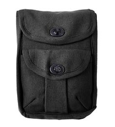 Rothco's 2 Pocket Ammo pouches are constructed of heavyweight cotton canvas measure 8'X 6-1/2'X 2' and utilize belt loops to secure the pouch....