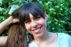 Drops of Kerosene Earrings (see on Facebook or contact me: andybori@seznam.cz)
