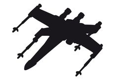 x wing silhouette - Recherche Google