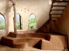Interior of Adobe house