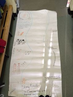 Story Road - telling the story of the Gingerbread Man EYFS