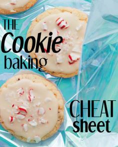 The Everyday Food Cookie-Baking Cheat Sheet