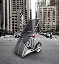 ♂ Futuristic transportation Slide Future Smart Car for Urban Space