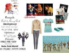 """""""Paramore 2"""" by foxyfox5512 ❤ liked on Polyvore"""