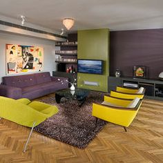 Purple green and gold rooms on pinterest purple area for 10x9 bedroom ideas