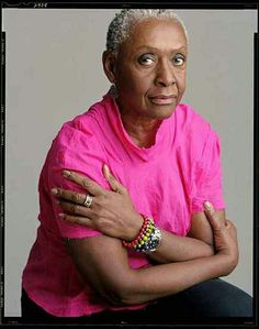 Bethann Hardison; love her style and the fact she paved a way for black women to model.