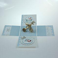 Pudełko z życzeniami na chrzest dla chłopca Retro, Rings, Ring, Jewelry Rings, Retro Illustration