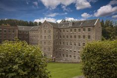 New Lanark Mill Hotel Lanark The New Lanark Mill Hotel is part of UNESCO World Heritage Site. The hotel has spacious en suite rooms, a restaurant, bar and swimming pool.  New Lanark is a small 18th century village, designed as a model industrial centre.