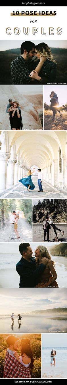 10 pose ideas for couples