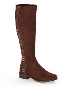 Look at this Brown Farasha Boot on #zulily today!