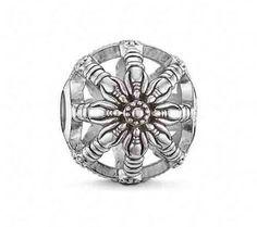 Thomas Sabo Silver Wheel of Karma Bead K0016-001-12 at John Greed Jewellery